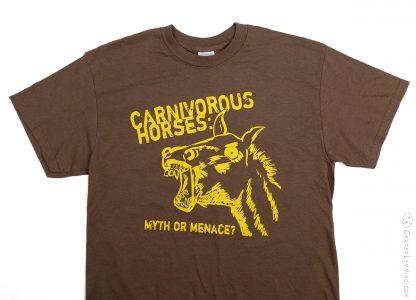 Carnivorous Horses Myth or Menace? Shirt