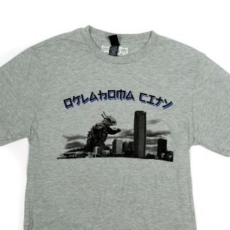OKC Kaiju Monster Shirt (grey)