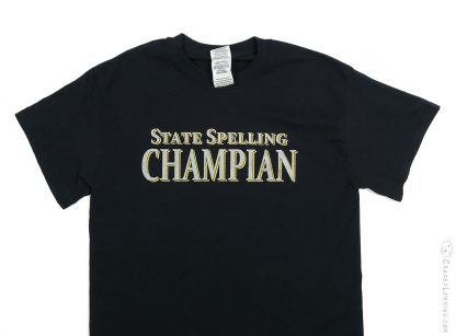 State Spelling Champian Shirt