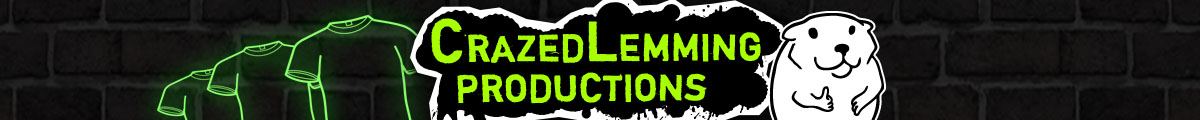 Crazed Lemming Productions Banner