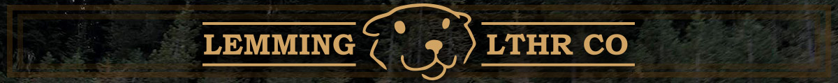 Lemming Leather Co Banner