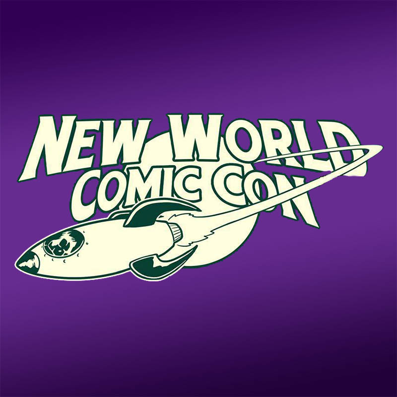 New World Comic Con 5 Logo