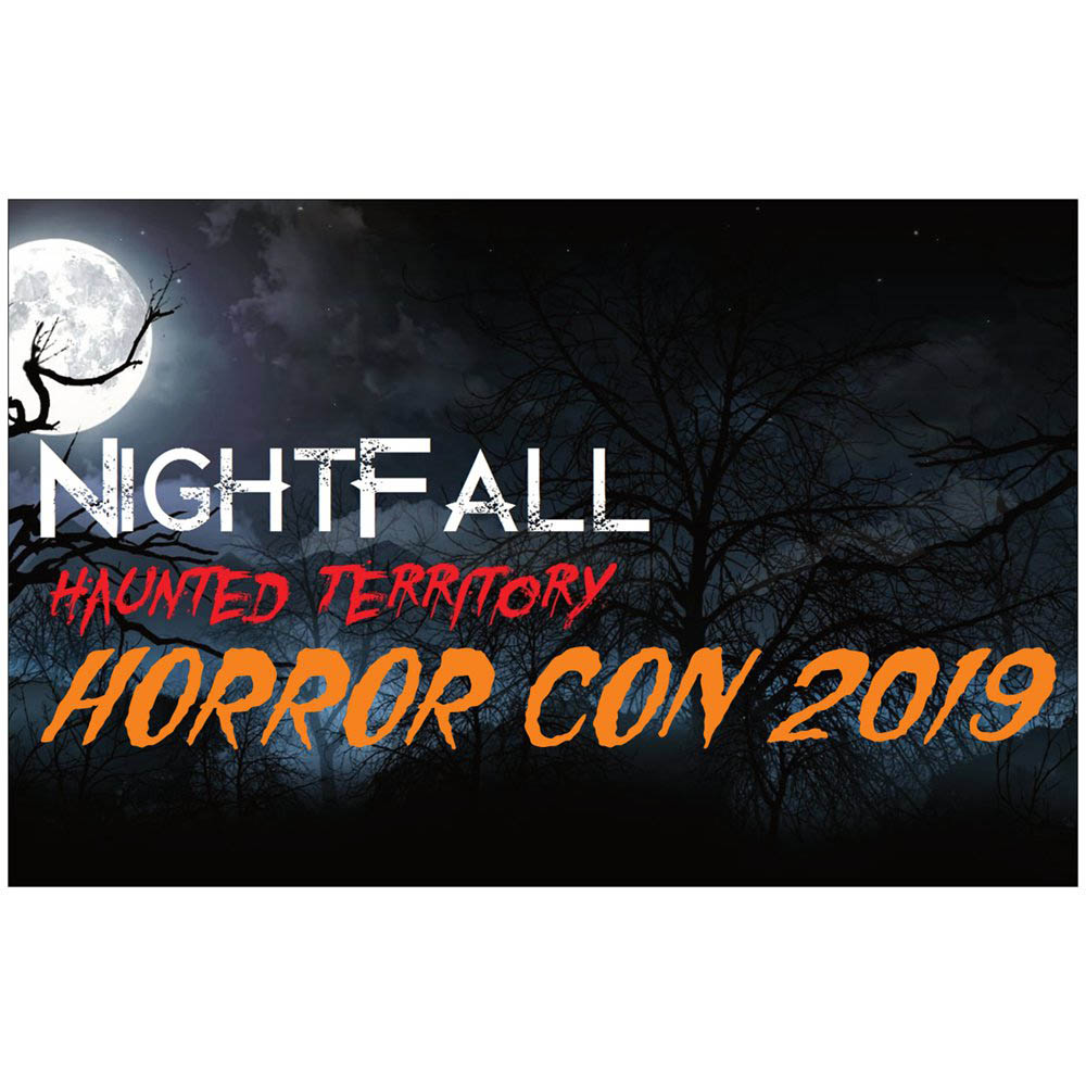 HorrorCon 2019 by Nightfall Haunted Territory Logo