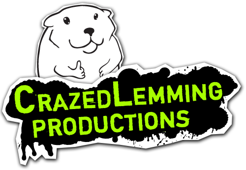 Crazed Lemming Productions Logo