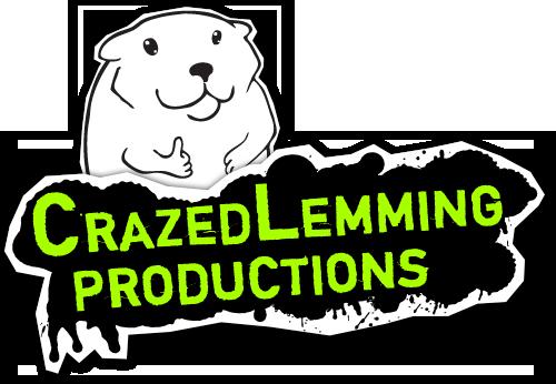 Crazed Lemming Productions Logo