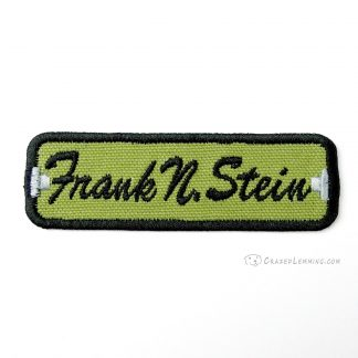 Frank N Stein Name Patch