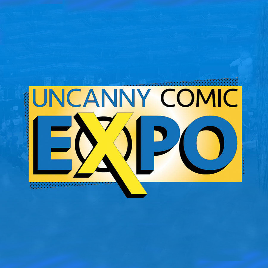 Uncanny Comic Expo Logo