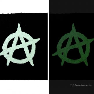 Glowing Anarchy Canvas Patch