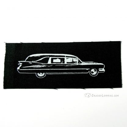 Cadillac Hearse Punk Patch