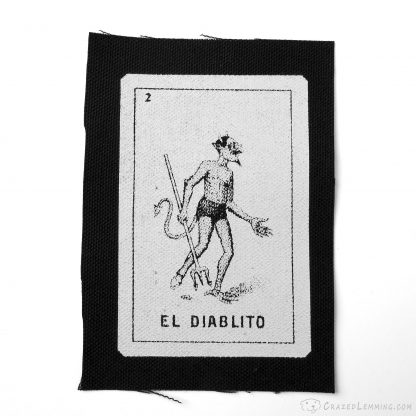 Loteria El Diablito Devil Patch