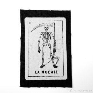 La Muerte Death Loteria Patch
