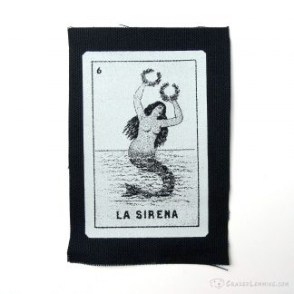 Loteria La Sirena Patch