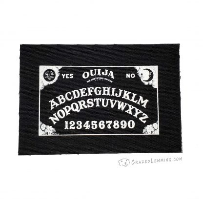 OUJIA Board Canvas Patch