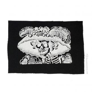 La Catrina Posada Etching Patch