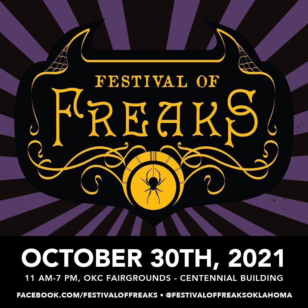 Festival of Freaks 2021 Logo